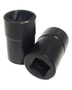 19 mm x 3/4 in. Lug Lock Hubcap Rim Remover, Twist