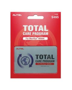 MS906 One Year Total Care Program Card