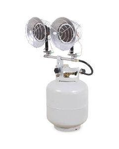 Tank-Top Heater Double 30k Btu's Propane