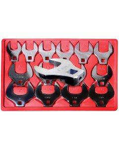 CROWFOOT WRENCH SET 14PC 1/2DR  1-1/16-2
