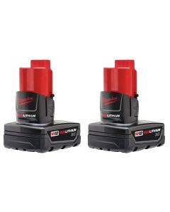M12 REDLITHIUM XC 3.0-Amp Hour Battery 2-Pack