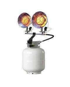 Tank Top Heater, Twin, 8,000 - 30,000 BTU