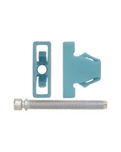 "Headlight Adj. Screw Blue Nylon Nut 1/4-28 X 2 2/Pk, Size: 1/4-28"", Size: 2"", Qty: 2, Other: 556196"