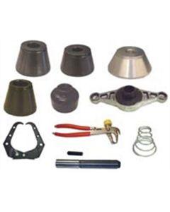 10-Piece 40 mm Basic Coverage Wheel Balancer Kit for Coats Wheel Balancers