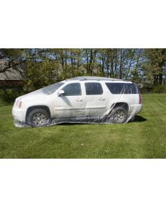 Heck Industries 24 ft. Plastic Car Cover, Large