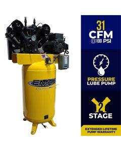 Compressor 7.5 HP 2 Stage 1 Phase Vert.80 Gal