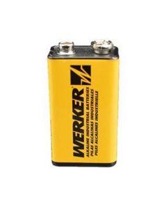 Werker 9V Alkaline Batteries 2PK