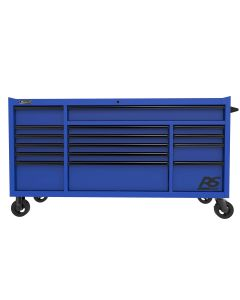 "72"" RS Pro 16-Drawer Roller, Blue"