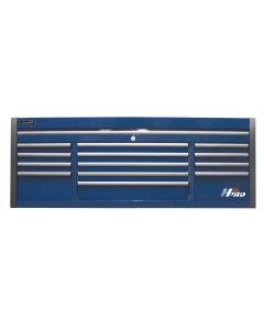 Homak Mfg. 72 in. HXL 13-Drawer Top Chest, Blue