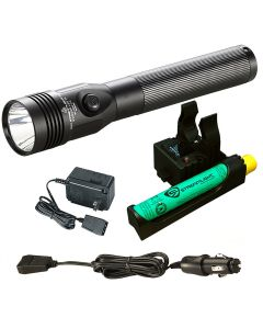 Stinger LED HL Rechargeable Flashlight with AC/DC and PiggyBack Charger, 800 Lumens