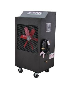 "18"" Black Galvanized Steel Evaporative Cooler"