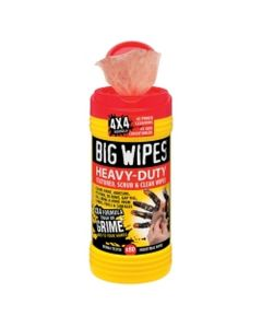 """Case of 8 Big Wipes Heavy Duty Anti-bacterial Hand Sanitizing Wipes 80 Count (8""""x11.5"""" wipe)"""