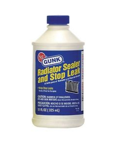 Radiator Sealer and Stop Leak, Non-Metallic 11 oz. Liquid Formula (Pack of 12)