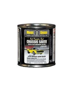 Chassis Saver Paint, Stops and Prevents Rust, Satin Black, 8 oz Can