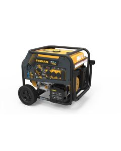 Dual Fuel 10000/8000W Electric Start Gas or Propane Powered Portable Generator with Wheel Kit