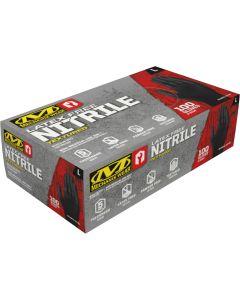 HD Black Nitrile Gloves 5mil, Medium (100 pack)
