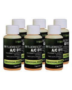 Universal A/C Dye 6-pack of 1 oz. bottles