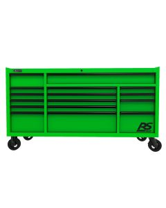 "72"" RS Pro 16-Drawer Roller, Li Green"