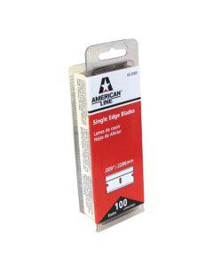 American Safety Razor 66-0089 Single Edge Razor Blades