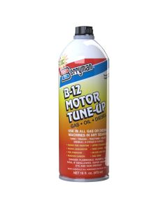 12PK B-12 Motor Tune-up - 16 oz Pour Can