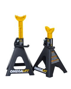 6 ton double locking ratchet style jack stands
