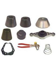 9-Piece 28 mm Basic Coverage Wheel Balancer Adapter Kit (No Shaft)