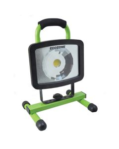 Electric High Intensity Work Light, with One Super Bright LED, Steel Base, Adjustable Head, 3' Cord