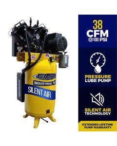 Compressor 10 HP 2 Stg 1 Ph Vert 80 Gal