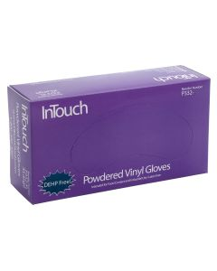 InTouch XLarge Powdered Vinyl Gloves