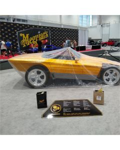 Heck Industries Plastic Car Cover with Elastic Bottom