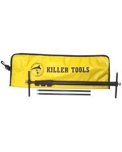 Killer Tools Mini Squaring Tram Gauge, Telescoping Tram Gauge