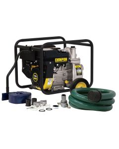Champion Power Equip. 2 in. Semi Trash and Water T