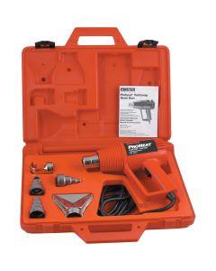 Proheat Varitemp Heat Gun with 5 Attachments and Case