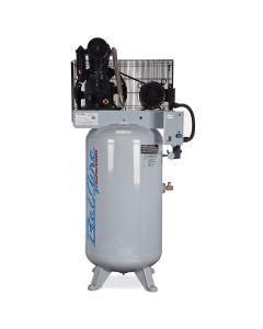 7.5HP 80 Gallon 1 Phase Elite Compressor - Cast Iron