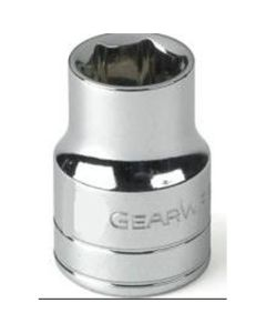 3/8 in. Drive 6-Point SAE Standard Socket - 1/2 in.