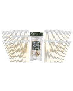 """.40 Caliber w/ 8"""" Bamboo Handle 100 pcs RamRodz"""