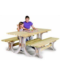 2x4 Basics Picnic Table Kit (Lumber Not Included)