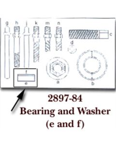 Bearing & Washer for KDT2897
