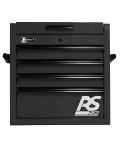 Homak Mfg. 27 in. RS PRO 4 Drawer Top Chest w/Outlet - Black