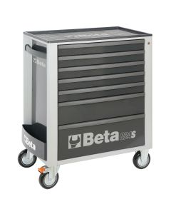 Mobile Roller Cab 7 Draw, Grey