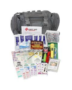 Emergency Prep, 1 Person, Black Fabric Bag