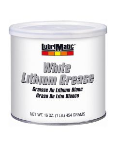 LubriMatic White Lithium Grease, 1 lb.