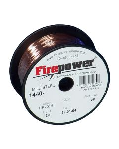 """ER70S-6 Mild Steel Welding Wire .035"""" 2 Lbs."""