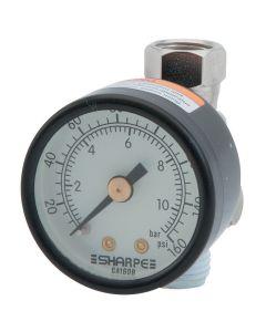 High Volume Air Adjusting Regulator with Gauge  36AAV-HV