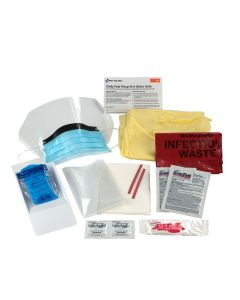 BBP Spill Clean Up Kit, Single Use Tray
