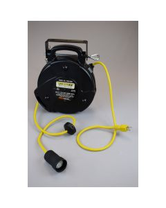 Mid Size Power Reel with Booted Receptacle