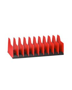 10 -Tool Plier Pro Organizer- Red/Black