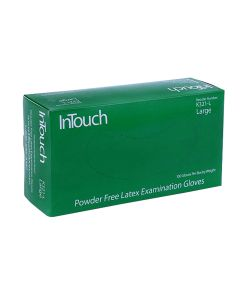 InTouch Small White Latex Gloves