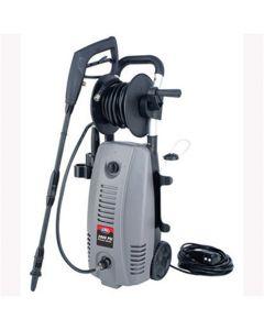 Electric Pressure Washer, with Hose Reel, 2000 PSI, 13 Amp Motor, Soap Dispenser, Adjustable Spray