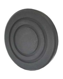 """Lift Pads For Globe, Round Rubber Pad (5 1/2"""" x 3/4"""")"""